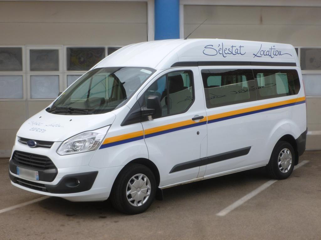 Minibus selestat-location